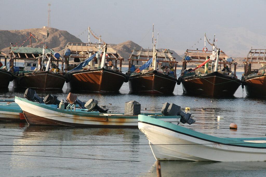 Mirbat Hafen / Harbour