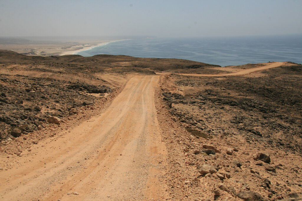 Küstenstraße nach Manji / Coastal Road to Manji